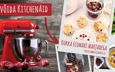 Kuidas võita endale KitchenAid köögimikser?