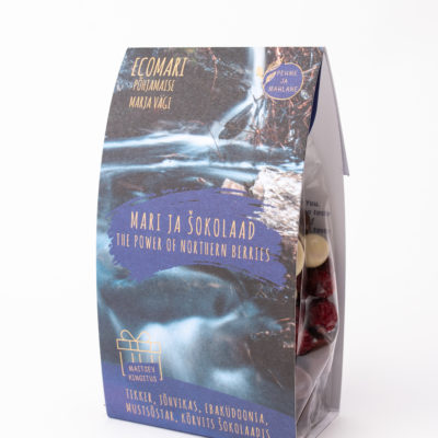 kingitus marjad šokolaadis kinkepakk