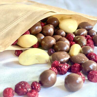 Ärikingitused marjad šokolaadis